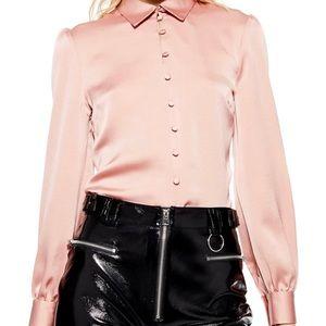 Topshop - Rouleau Button Shirt